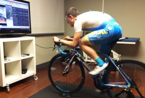 Estudio biomecánico ciclismo profesional Angel Madrazo